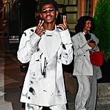 Lil Nas X's White Nail Polish Colour