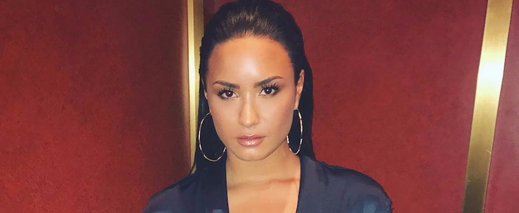 Demi Lovato Is Lighting Your Screen on Fire With This Sexy PJ-Inspired Look