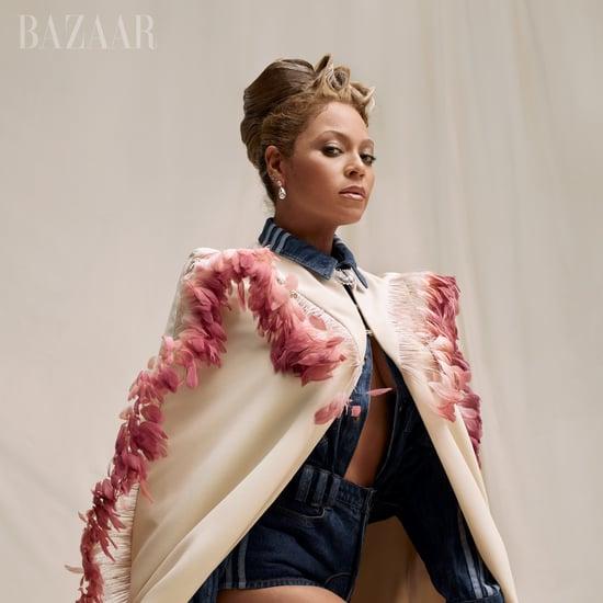 Beyoncé Mental Health Quotes in Harper's Bazaar