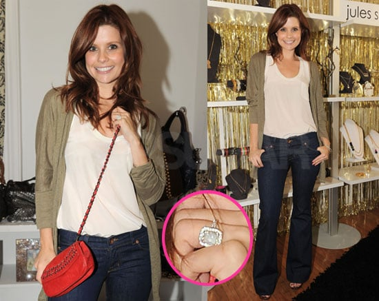 Pictures of Joanna Garcia's Engagement Ring From Nick Swisher