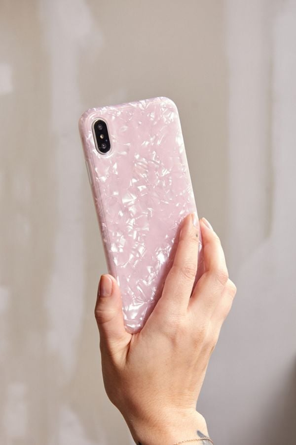 Recover Rose Shimmer iPhone Case