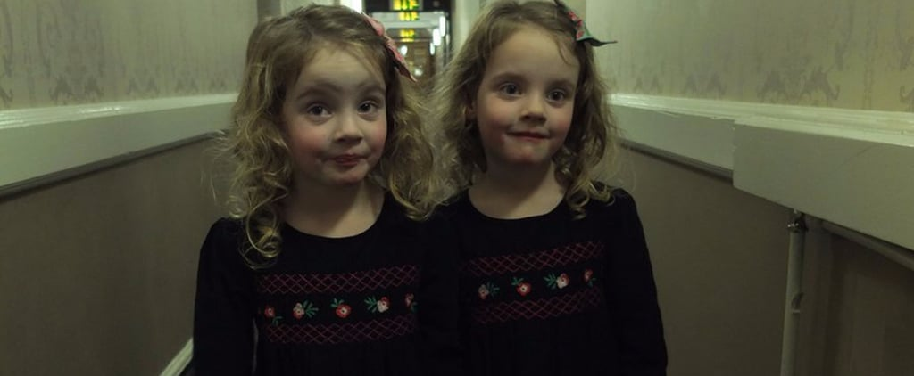 Dad Makes Twins Act Out The Shining in Hotels