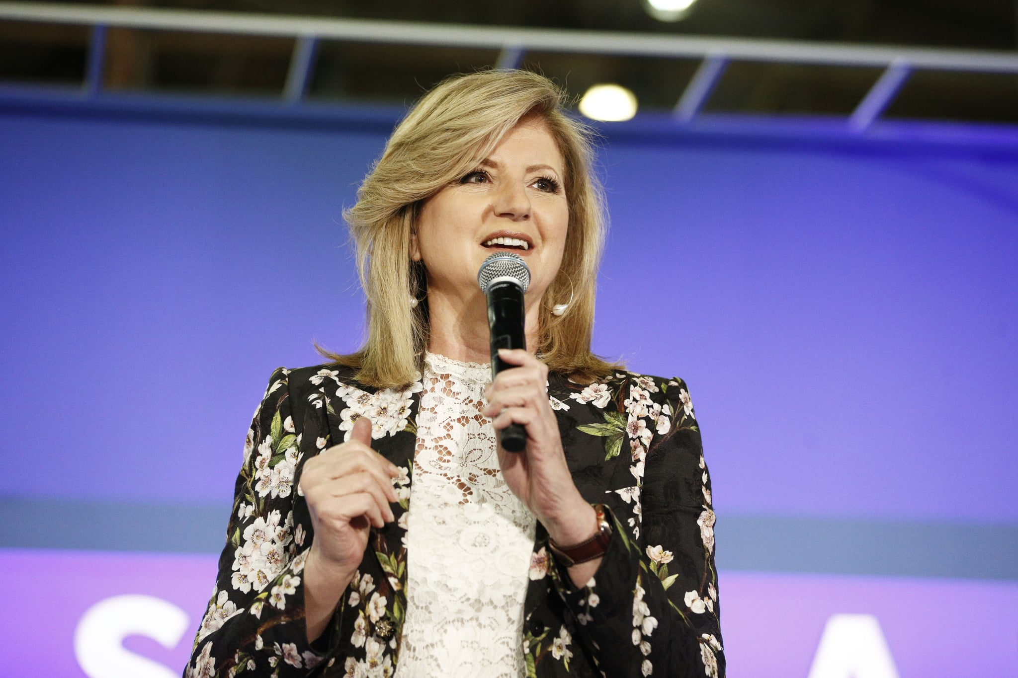 NEW YORK, NY - JUNE 10:  Arianna Huffington speaks onstage in