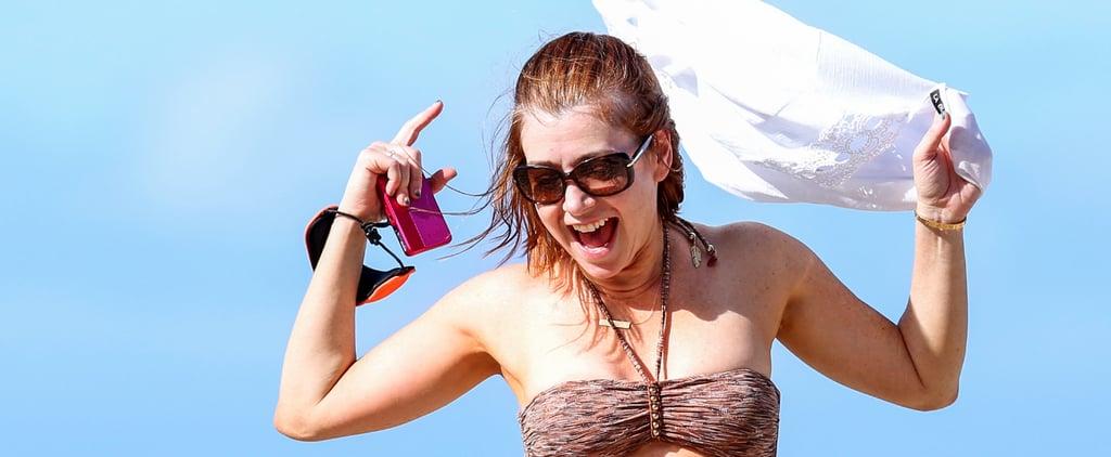 Alyson Hannigan Bikini Pictures 2014