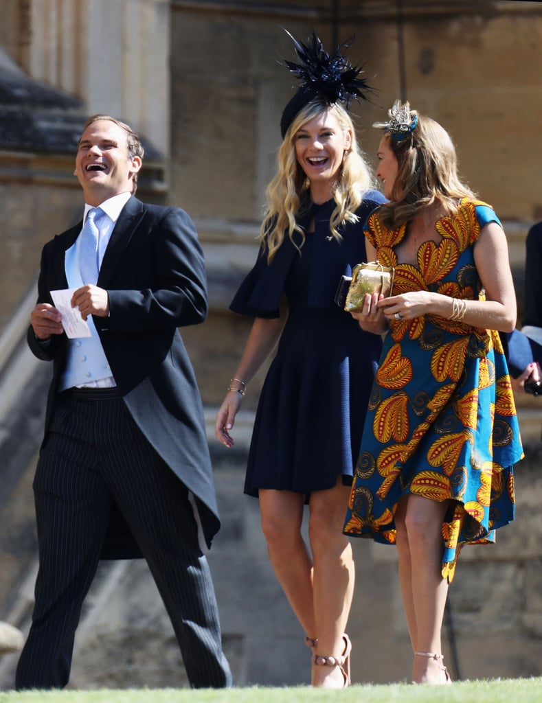"The moment we've all been waiting for is finally here: Prince Harry and Meghan Markle's royal wedding! On Saturday, thousands of people made their way across the pond to watch Harry and Meghan exchange ""I dos"" at St. George's Chapel at Windsor Castle, and yes, that included Harry's exes. Cressida Bonas and Chelsy Davy appeared to be in good spirits as they arrived, and from the looks of it, there are no hard feelings between them and Harry.  According to Us Weekly, Chelsy and Harry ""have remained friends long after ending their relationship and still keep in touch to this day."" Chelsy also reportedly ""congratulated him the minute the engagement news was announced,"" and Meghan apparently has ""no problem with her being there."" Now, just a few more minutes until Harry and Meghan tie the knot!      Related:                                                                                                           10 Times Harry and Meghan Showed Us That They're the Perfect Royal Match"