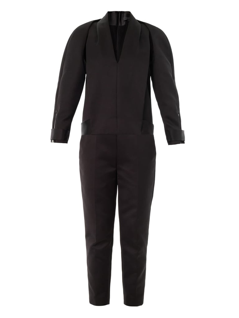 Think you can't wear your PJs to work? Think again with this luxe-looking Alexander Wang tuxedo one piece ($399). It's perfect for the office then happy hour.
