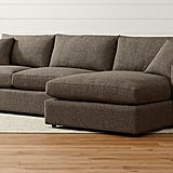 Bonnie: Lounge II Shallow Sectional Sofa
