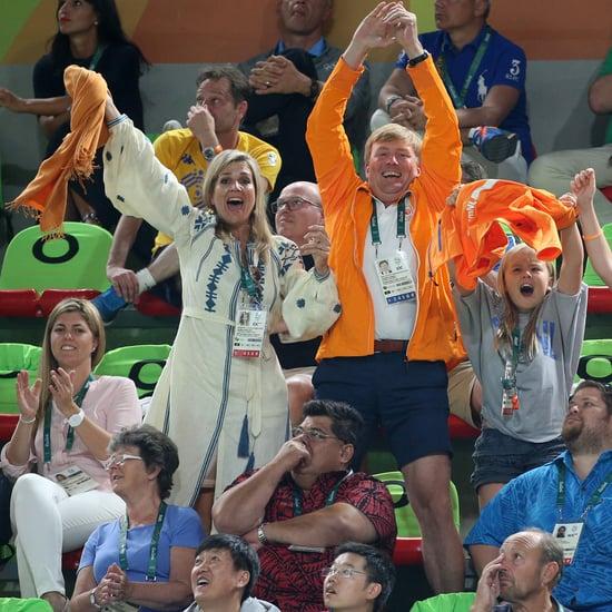 Queen Maxima's Vita Kin Dress at the Olympics August 2016
