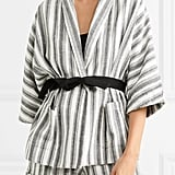 Vanessa Bruno Belted Striped Jacket