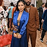 Jhené Aiko and Big Sean at the 2020 Roc Nation Brunch in LA