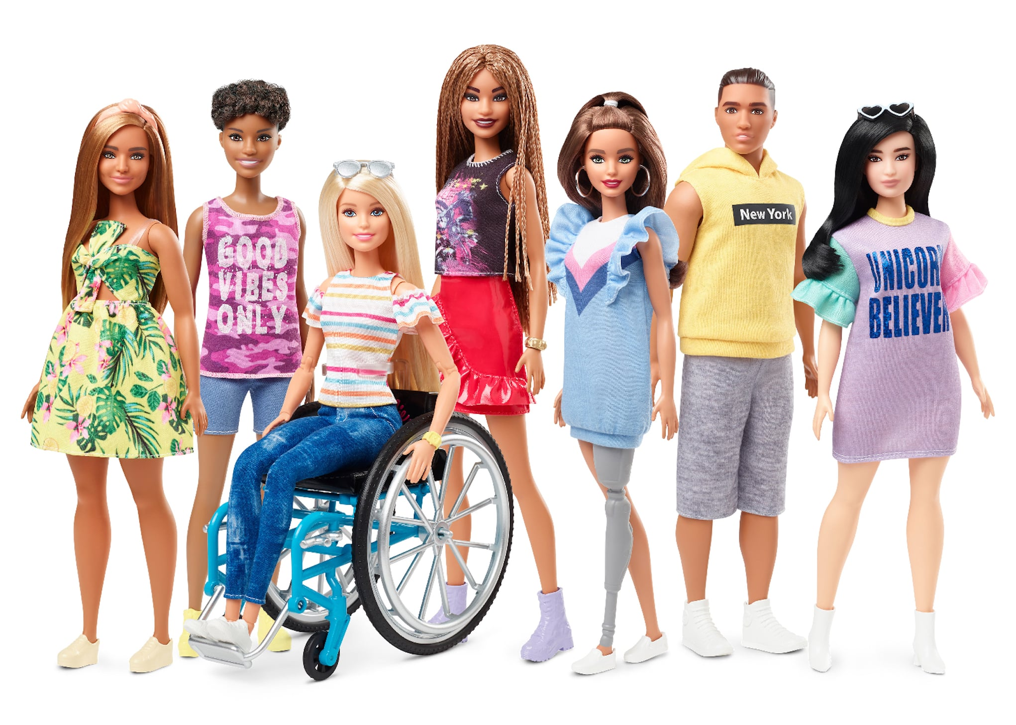 Barbie Is Expanding Its Fashionistas Collection to Include 2 Dolls With Disabilities