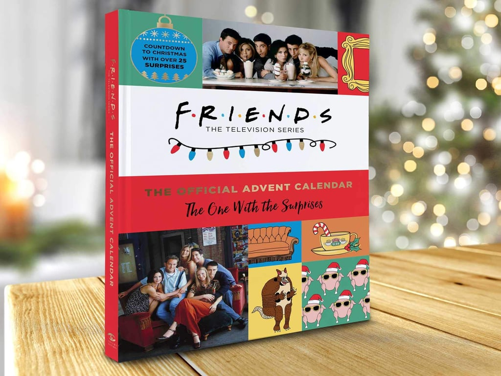 The holidays have basically arrived now that a Friends-themed Advent calendar is available on Amazon. Though the festive season is still (*checks calendar*) a few months away, Insight Editions recently unveiled its Friends: The Official Advent Calendar, an illustrated book containing a surprise for each of the 25 days leading up to Christmas, and then some.  Though we don't know too much about the hardcover book's contents just yet, there are apparently over 40 little keepsakes, including gift tags, ornaments, and recipe cards. All will be revealed, however, when the Advent calendar is released on Oct. 27. In the meantime, it's available for pre-order through Amazon for $18. Take a closer look ahead!       Related:                                                                                                           You Don't Have to Be a '90s Baby to Appreciate the New Lisa Frank x Friends Collection