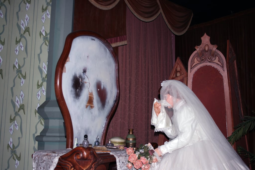 The ride's concept is centered around the bride.