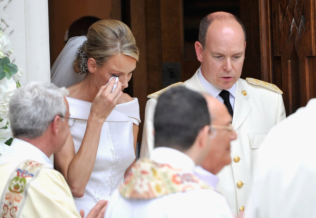 Princess Charlene Runaway Bride at Prince Albert Wedding