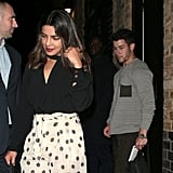 The Lovebirds Continued Their Fashionable Date Night Streak by Stepping Out For Dinner Again in London