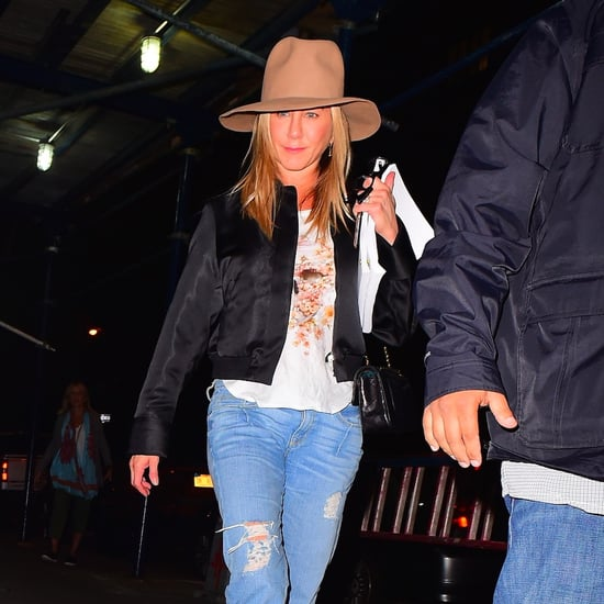 Jennifer Aniston Arriving in NYC September 2016