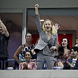 Sophie Turner and Joe Jonas at the US Open September 2018