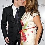 Jimmy Fallon and Nancy Juvonen in March 2009