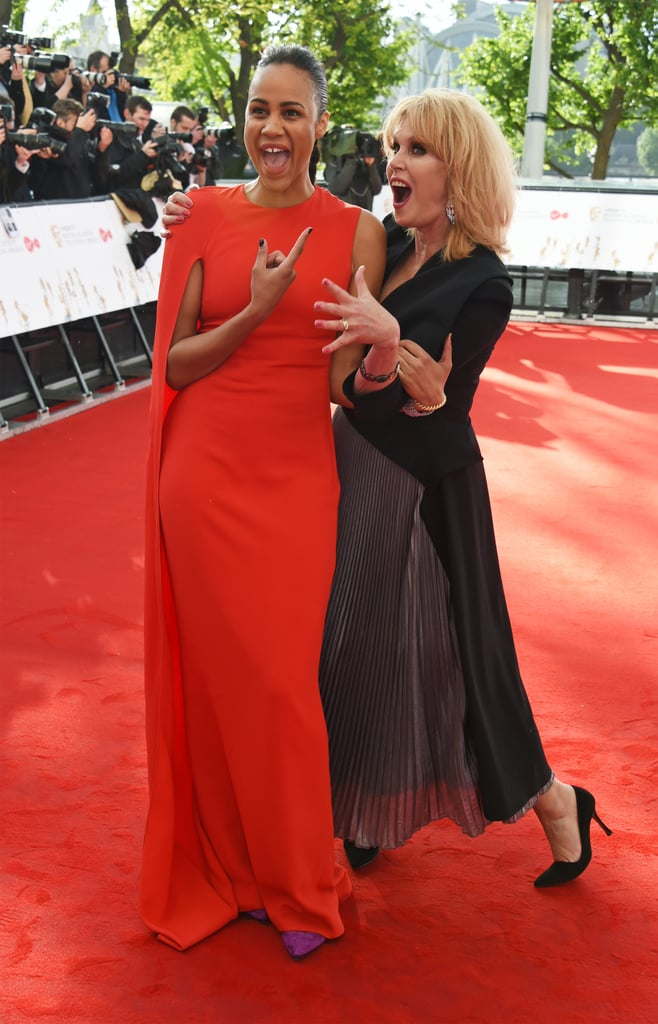 Zawe Ashton and Joanna Lumley