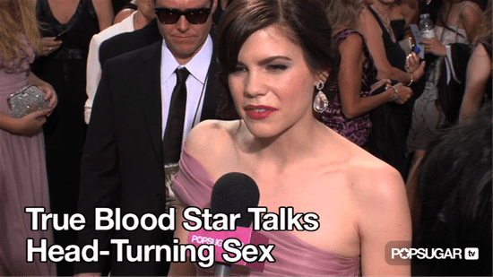 Video of True Blood Star Mariana Klaveno Talking About Head-Spinning Sex With Stephen Moyer