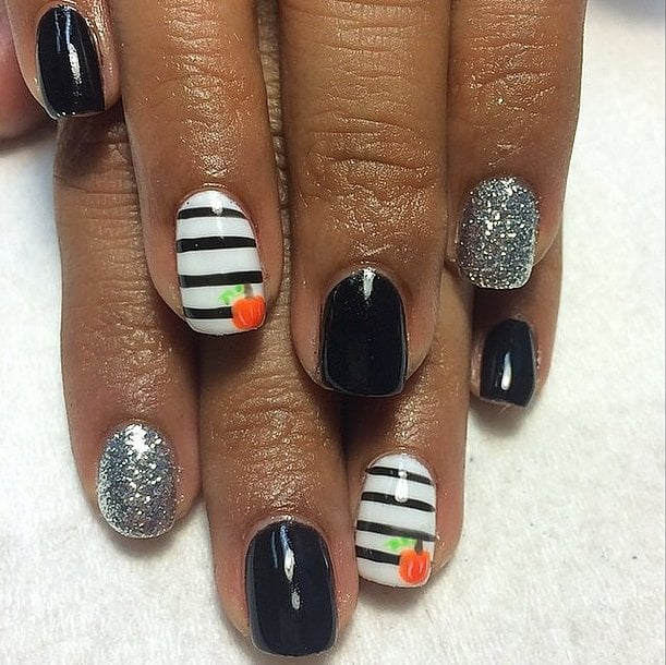 Halloween Nail Art: POPSUGAR Beauty Australia