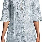 Sachin + Babi Odette Floral Crochet Ruffle Dress