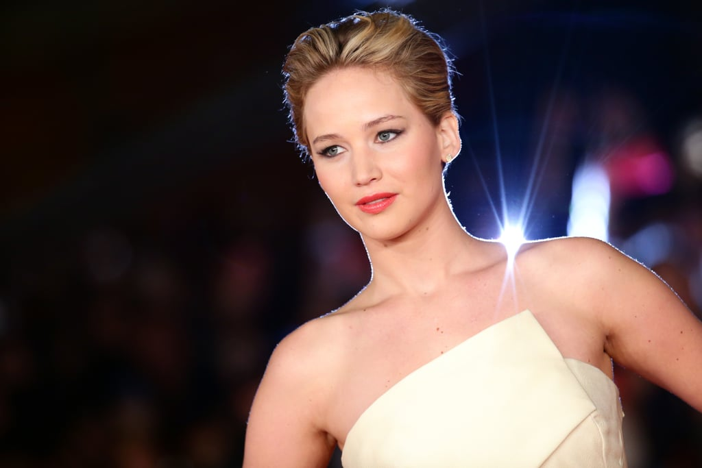 Jennifer Lawrence's Slicked-Back Pixie