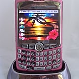 A Pink BlackBerry Curve