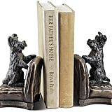 Perky Scottie Dog Bookends — Set of 2 ($44)
