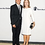 Caroline Kennedy and Mark Shriver stepped out for the NYC event.