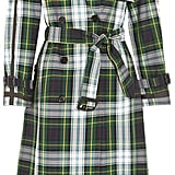 Burberry Tartan Cotton-gabardine Trench Coat