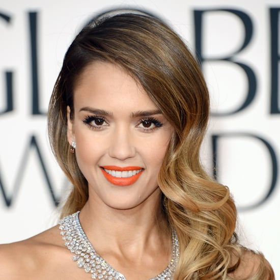 Pictures of Jessica Alba at the 2013 Golden Globes