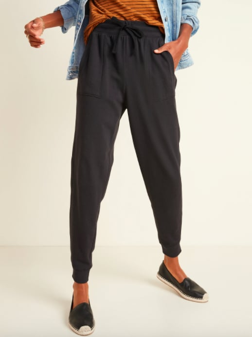 Old Navy High-Waisted Garment-Dyed Jogger Pants