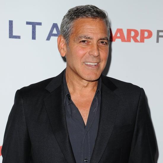 George Clooney Talks Donald Trump's Meryl Streep Tweets