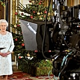 Queen Elizabeth II recorded her Christmas message to the Commonwealth in 3D for the first time from Buckingham Palace in 2012.