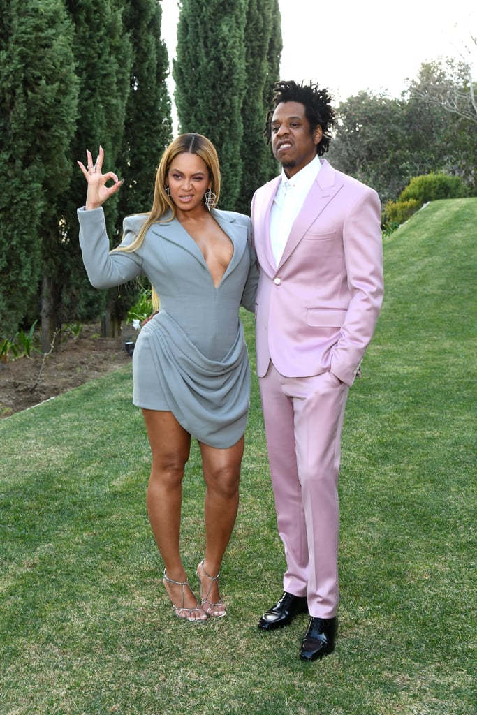 Beyoncé and JAY-Z at Roc Nation's Pre-Grammys Brunch 2020