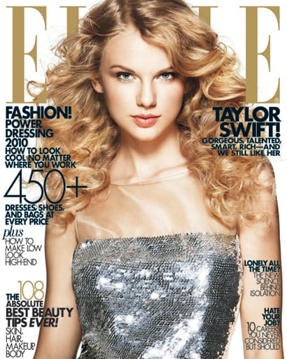 Taylor Swift does Elle-april 2010