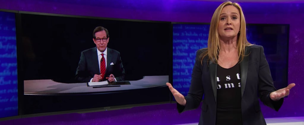 Samantha Bee Expertly Rips Into Trump For Getting It Wrong on Abortion During the Last Debate