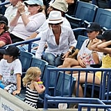 Cameron Sits in the Stands to Cheer On Alex's Spring Training