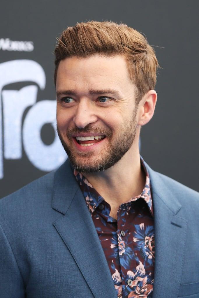 Justin Timberlake at Trolls Premiere in Australia 2016