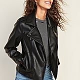 Old Navy Faux-Leather Moto Jacket