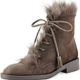 Pedro Garcia Fur-Lined Combat Boot ($675)