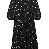 Zimmermann Sunray pleated polka-dot georgette maxi dress