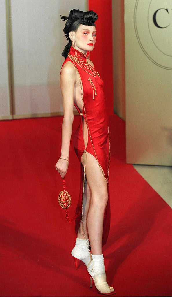 Carla Bruni in Fall 1997 RTW