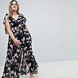 Religion Plus Maxi Dress in Woodland Floral