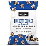 Blueberry Cobbler Drizzled Popcorn — 7.5-Ounce Bag