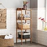 Finnhomy Natural Bamboo Shelf