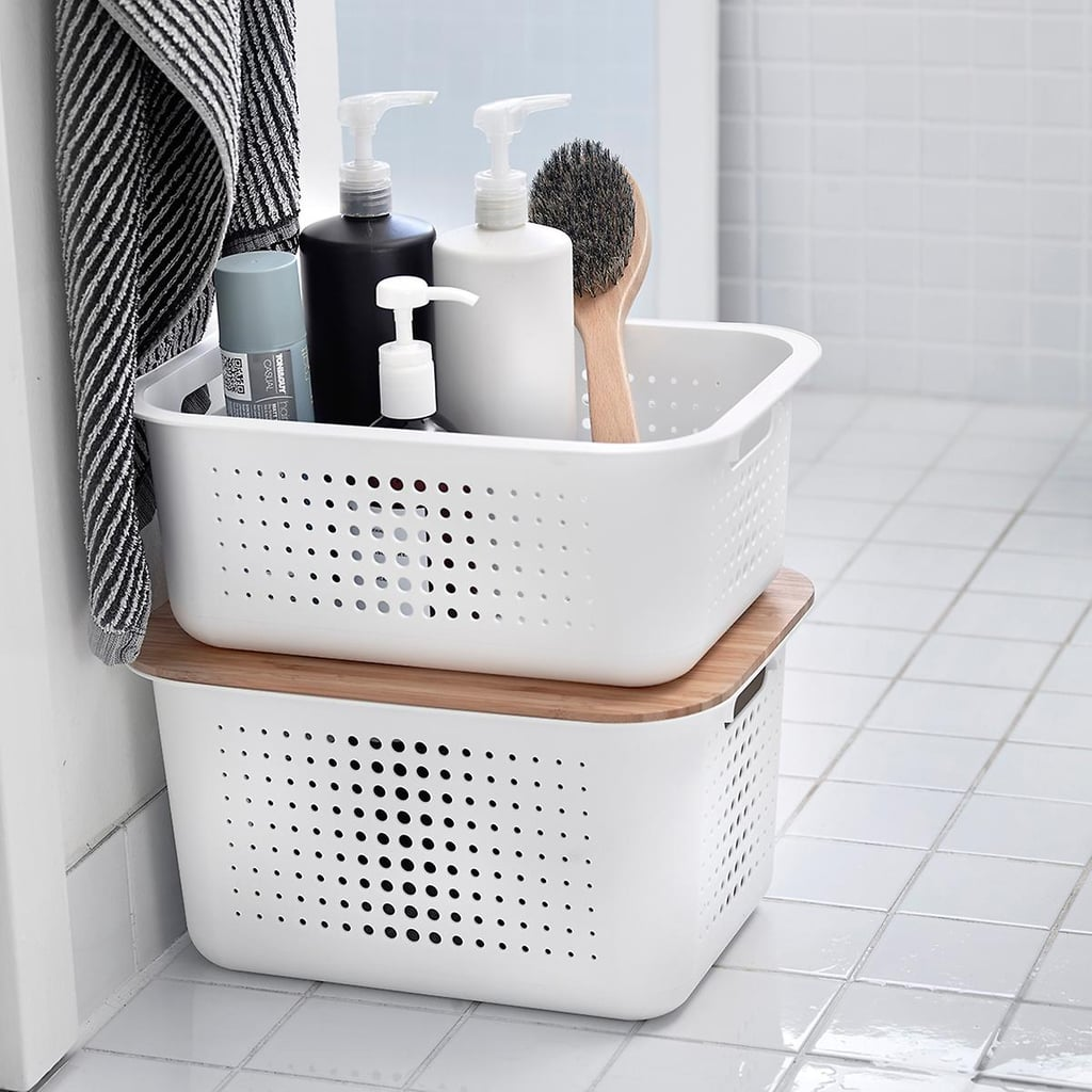 The Container Store Nordic Storage Baskets With Handles