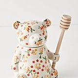 Floral Bear Honey Pot
