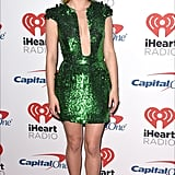 Lili Reinhart at 2017 iHeartRadio Music Festival